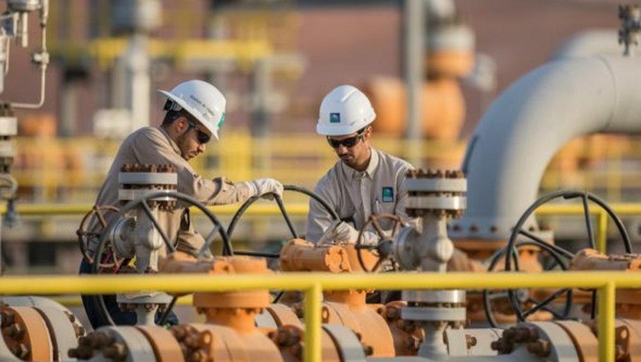 Pracownicy Saudi Aramco. Fot. Saudi Aramco