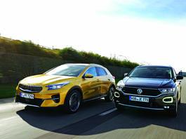 XCeed kontra T-Roc - czy Kia może być lepsza od Volkswagena?