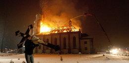 Ogień strawił naszą świątynię