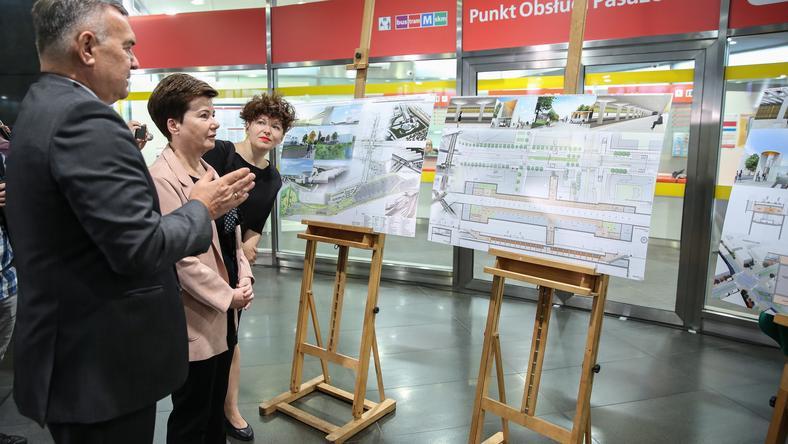 Warszawa: beton i miedź w koncepcji ostatnich zachodnich stacji II linii metra