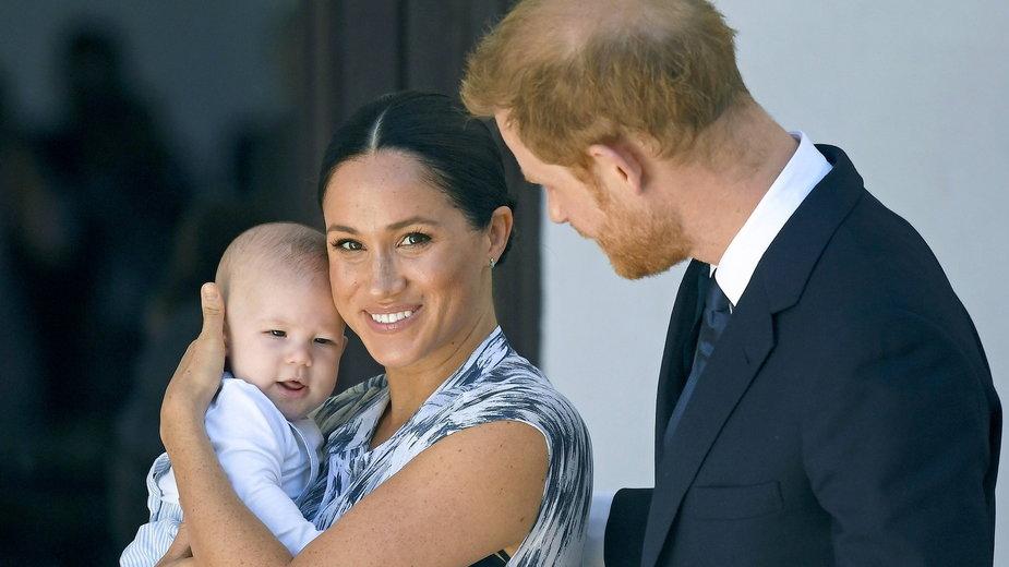 Tak Harry i Meghan świętowali urodziny synka rok temu