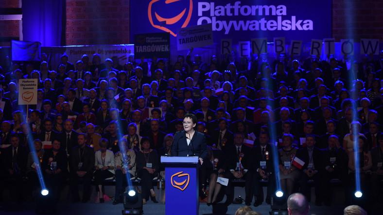 Kopacz na konwencji PO: Nie jestem od gadania, ale od roboty