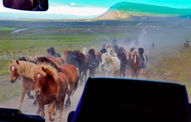 Aj takéto krásne výjavy ťa čakajú na Islande.