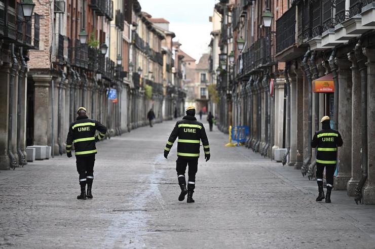 Madrid, španska policija