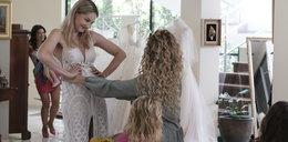 Wybierała suknię ślubną, gdy coś się stało