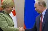 Kolinda Grabar Kitarović i Vladimir Putin