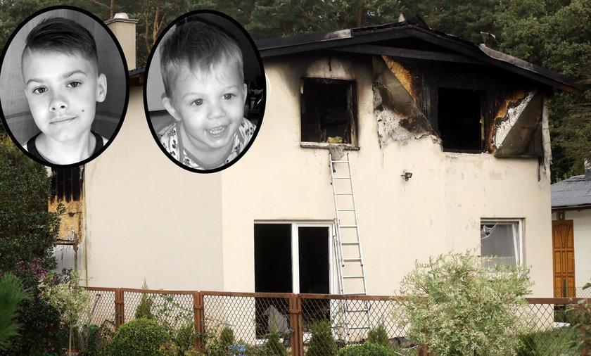 W tym domu zginęli Olaf i Natan