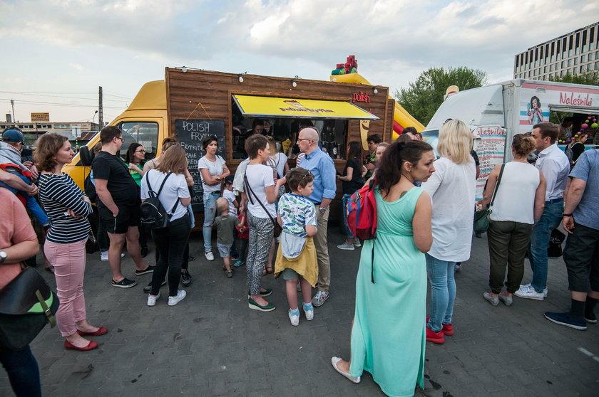 Festiwal Food Truck na Placu Imbramowskim w Krakowie