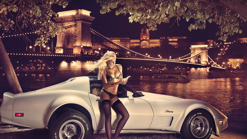 Leo Theresa - niemiecka Miss Tuningu i Chevrolet Corvette