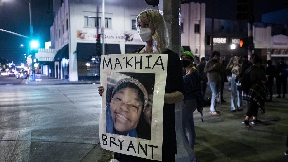 Protest po śmierci 15-latki