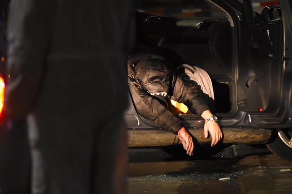 Zafir je likvidiran dok je upravljao vozilom, ubice su ga presrele BMW-om i u njega sasule kišu metaka