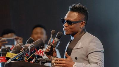 WCB's Mbosso lands his first Ambassadorial Deal (Photos)