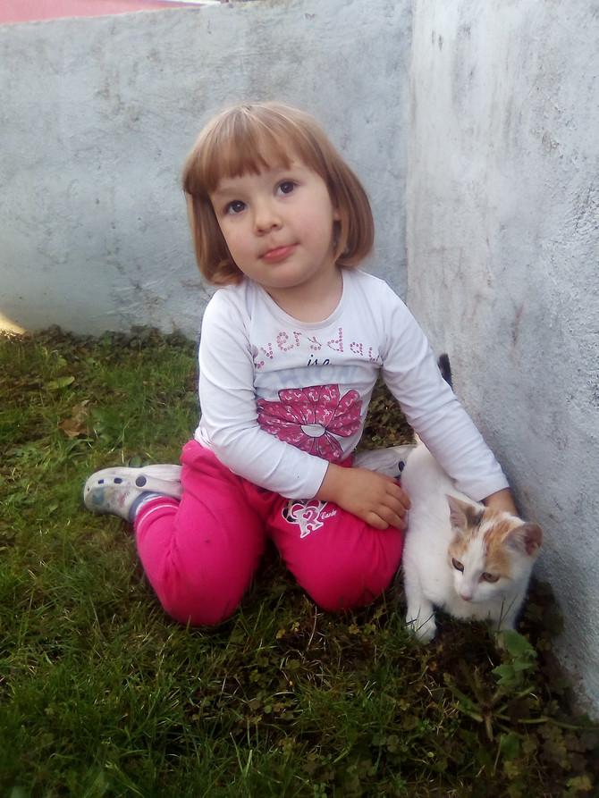 Marija će u avgustu napuniti četiri godine