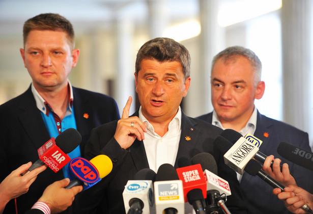 Andrzej Rozenek, Janusz Palikot, Artur Debski