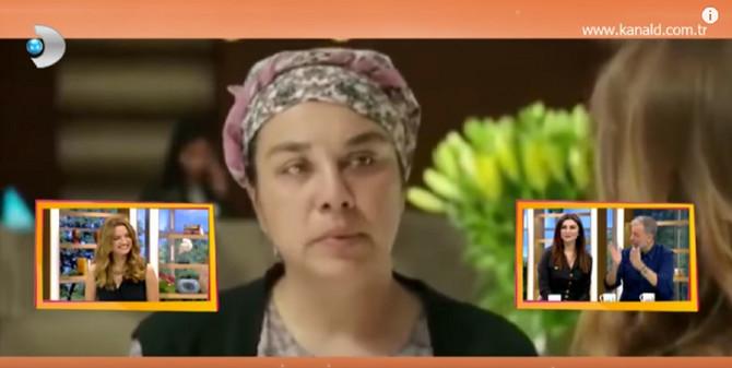 Turska glumica pre transformacije