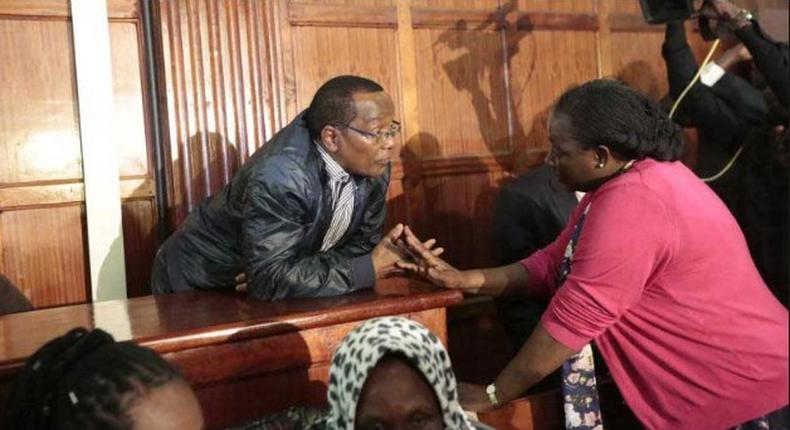 DPP Noordin Haji withdrew charges against 8 suspects in the National Youth Service (NYS) scandal for lack of evidence.