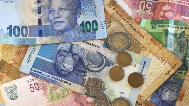 The South African Rands