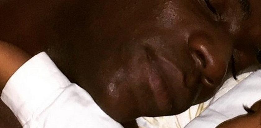 Balotelli śpi z córką!