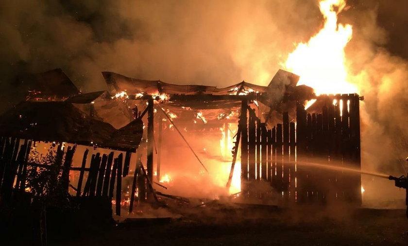 Lubelskie: Pożary w Brzostówce. Policja zatrzymała piromana