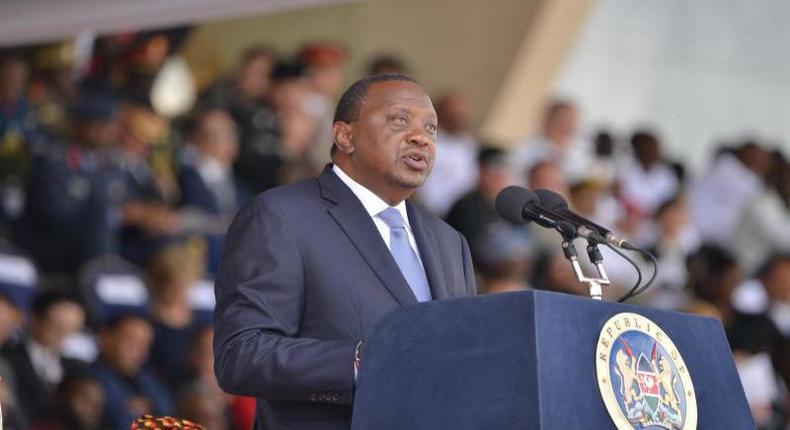 File image of President Uhuru Kenyatta
