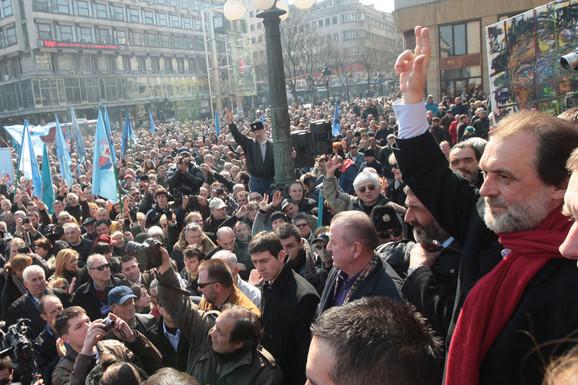 Jedno obeležavanje 9. marta u prestonici