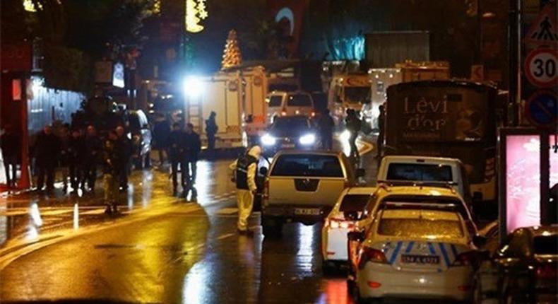 Istanbul nightclub attack