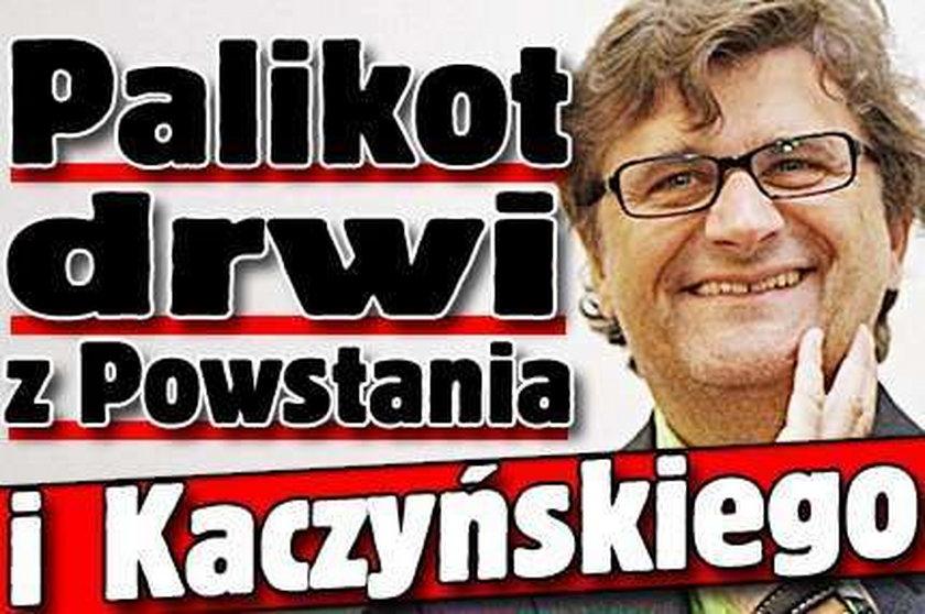 Palikot drwi z Powstania i Kaczyńskiego