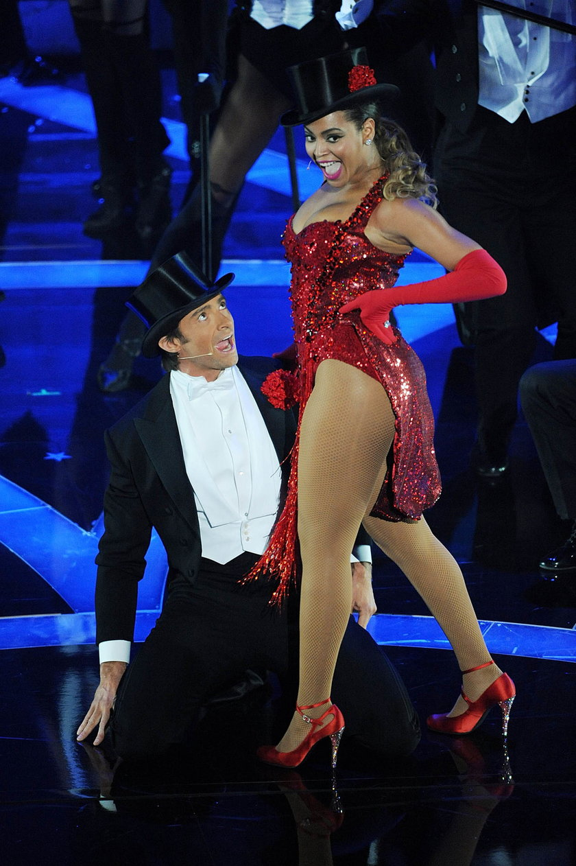 Hugh Jackman tańczy z Beyonce na Oscarach
