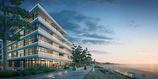 Apartmanetowiec Dune w Mielnie: Wnętrza projektowane przez Macieja Zienia