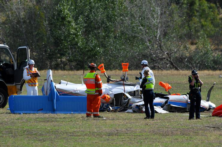 Sudar aviona u Australiji