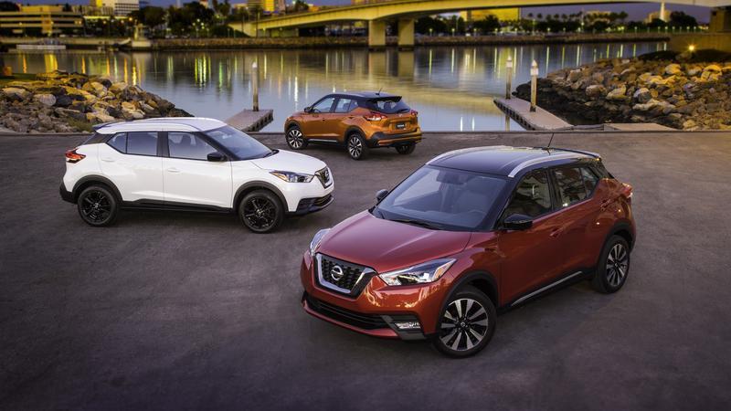 Nissan Kicks w wersji na rynek USA. Wersja z napędem na cztery koła nie jest przewidziana