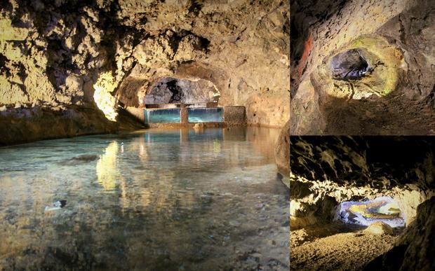 Jaskinie São Vicente na Maderze