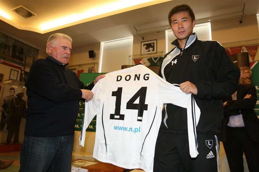 Legia nie chce już Chińczyka