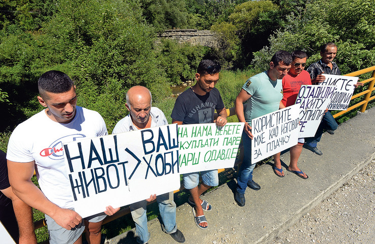 Meštani Rakite dugo vode borbu protiv malih hidroelektrana na rekama Stare planine, u jednom trenutku se činilo da su je dobili