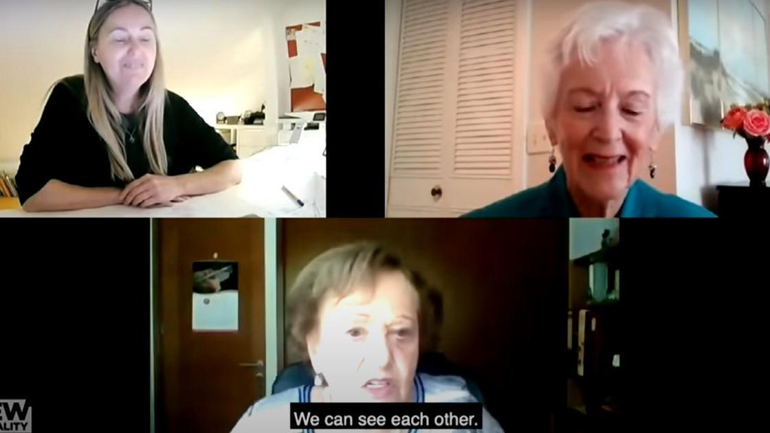 A kristályéjszaka után szakadtak el egymástól: 82 évig halottnak hitték a másikat, így találtak újra egymásra a barátnők – videó
