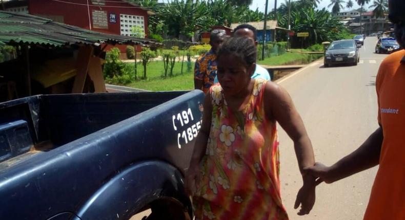 Found Takoradi pregnant woman