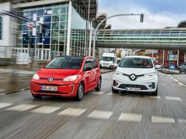 Renault ZOE kontra Volkswagen E-Up! - elektryk w mieście może mieć sens