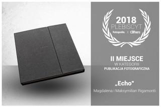 Magdalena i Maksymilian Rigamonti z nagrodą za książkę 'Echo'