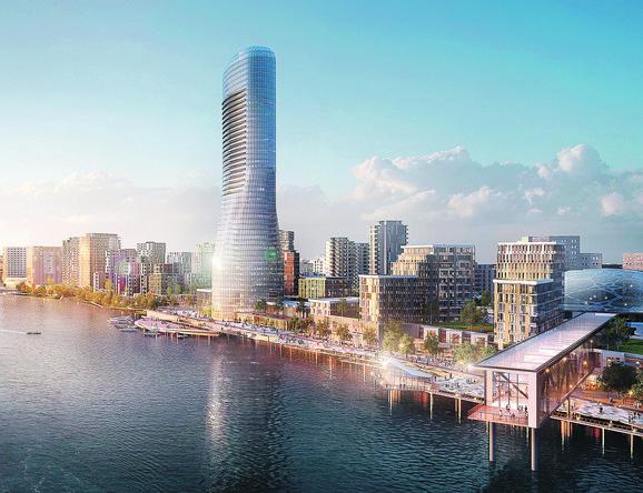 Kula će biti visoka 168 metara