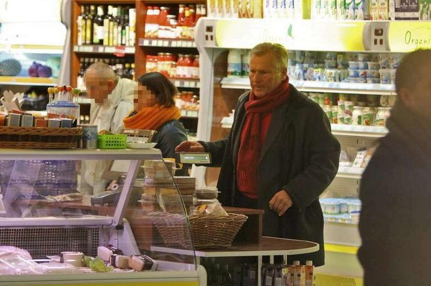 Aleksander Kwaśniewski wegetarianinem