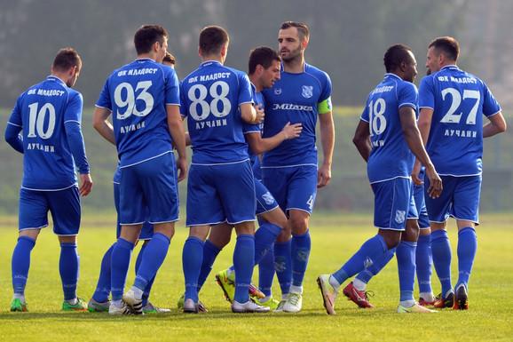 Fudbaleri Mladosti iz Lučana