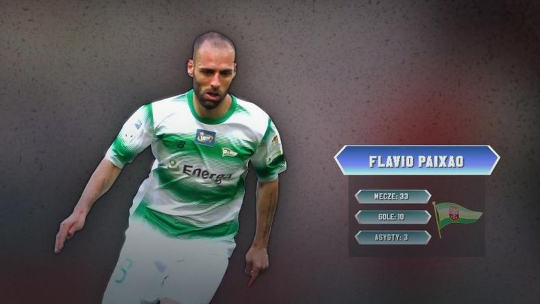 Flavio Paixao prawym pomocnikiem jedenastki sezonu LOTTO Ekstraklasy