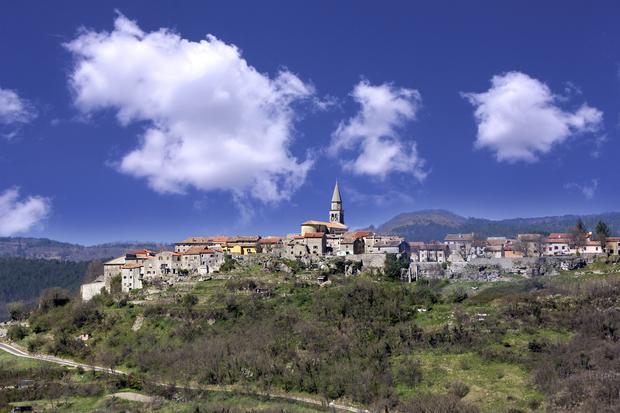 Buzet, Istria, Chorwacja