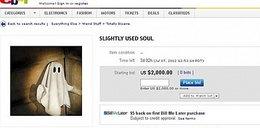 Co za smutek! Amerykanka wystawiła duszę na eBayu