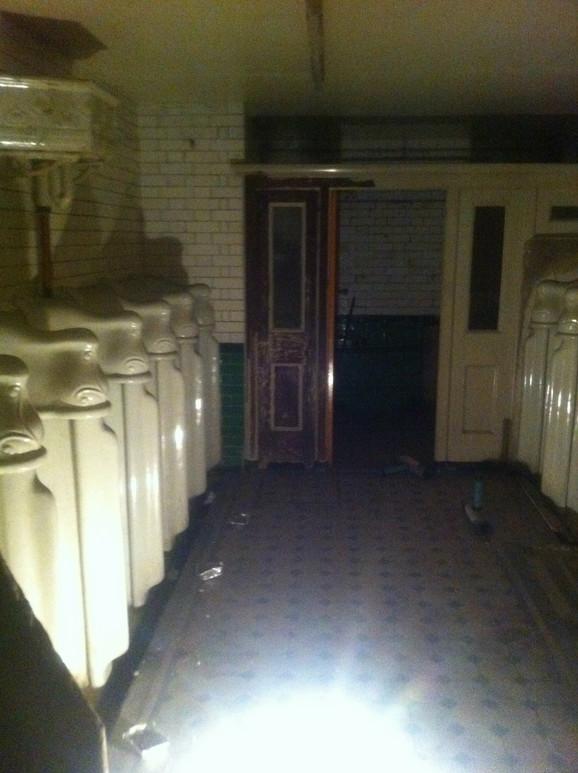 Javni toalet pre rekonstrukcije