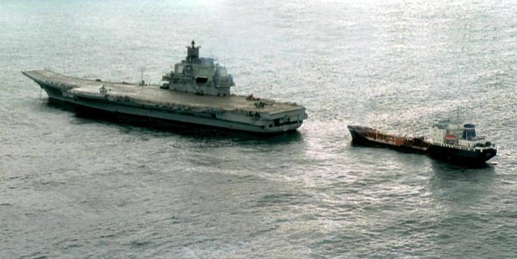 ruski nosač aviona admiral kuznjecov
