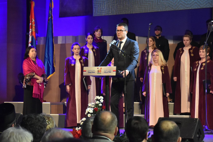 Doc dr Tomislav Kostić direktor Klinike za kardiovaskularne bolesti na dodeli nagrade 11 januar foto Privatna arhiva