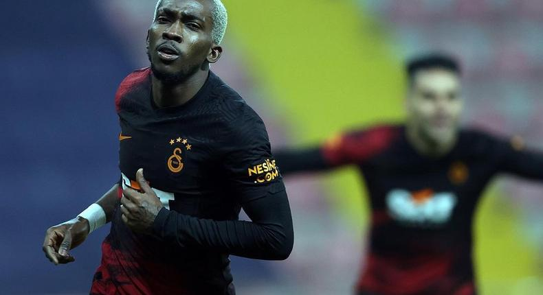 Henry Onyekuru scored a brace for Galatasaray on Saturday (Instagram/Henry Onyekuru)