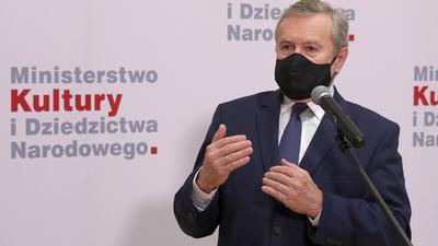 Nowy pomysł ministra Glińskiego na kneblowanie mediów to praktyka rodem z putinowskiej Rosji
