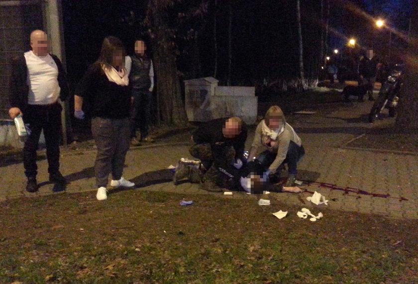 Wypadek w Katowicach-Giszowcu